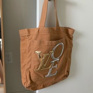 Louis Vuitton That's Love Canvas Mirror Love Tote